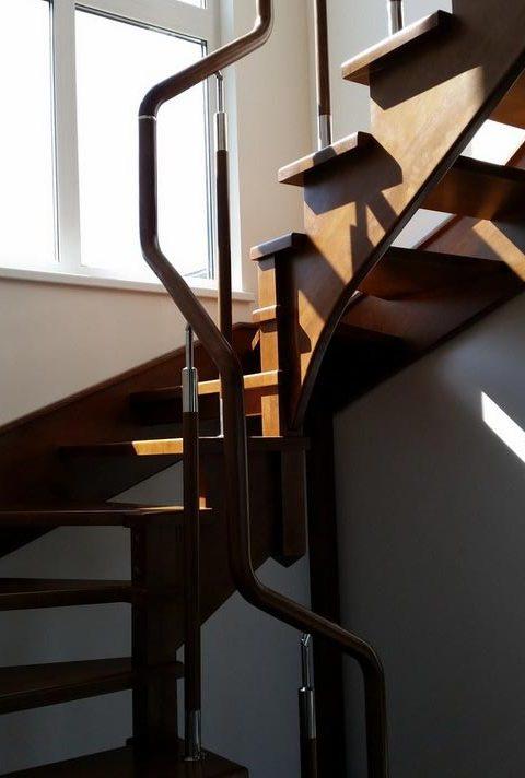 Лестница комбинированная k022