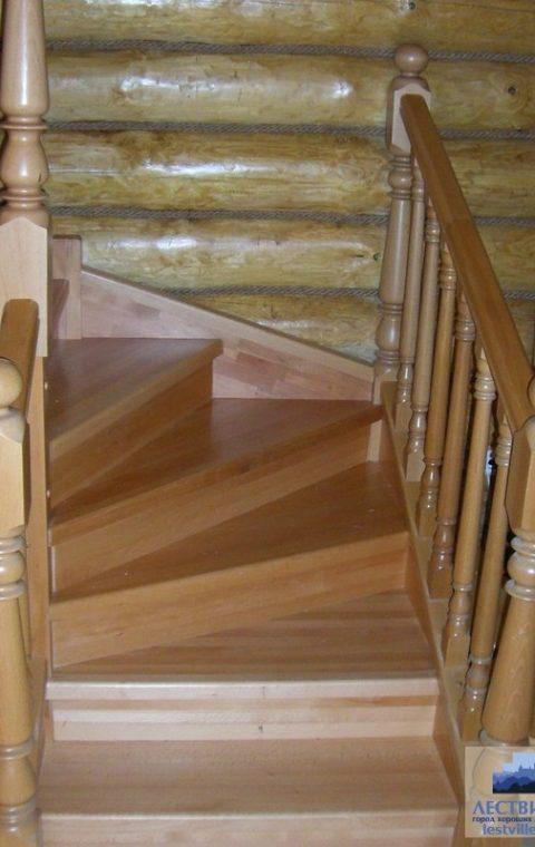 Лестница винтовая v005