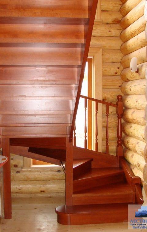 Лестница винтовая v004