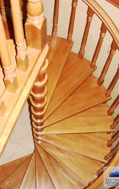 Лестница винтовая v002