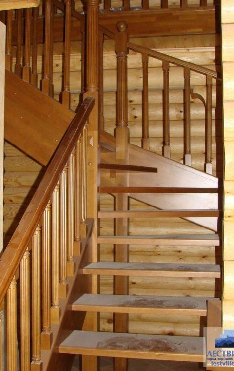 Лестница на тетивах t005