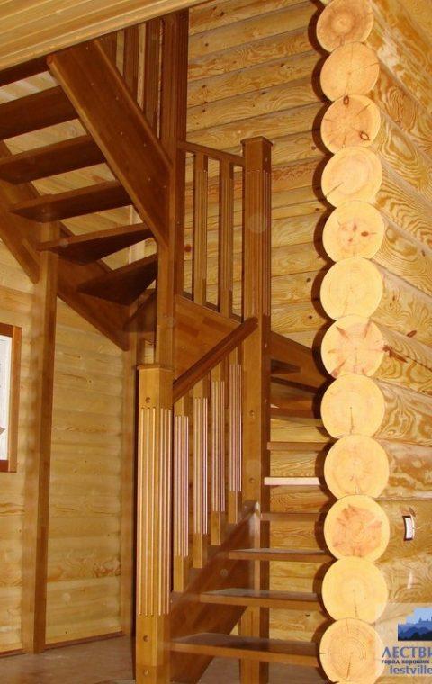 Лестница винтовая v006