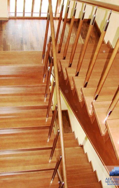 Лестница комбинированная k011