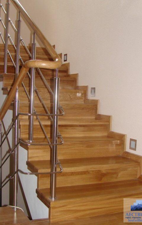 Лестница комбинированная k034