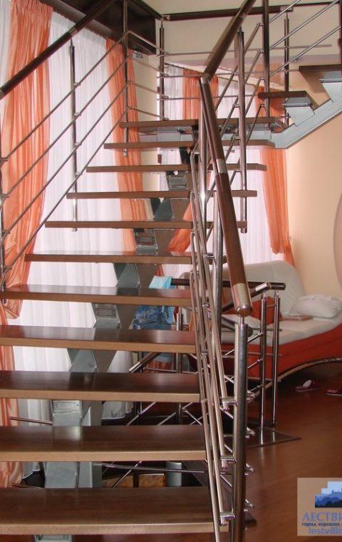 Лестница на центральном косоуре c004