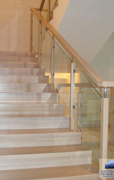 Лестница комбинированная k008