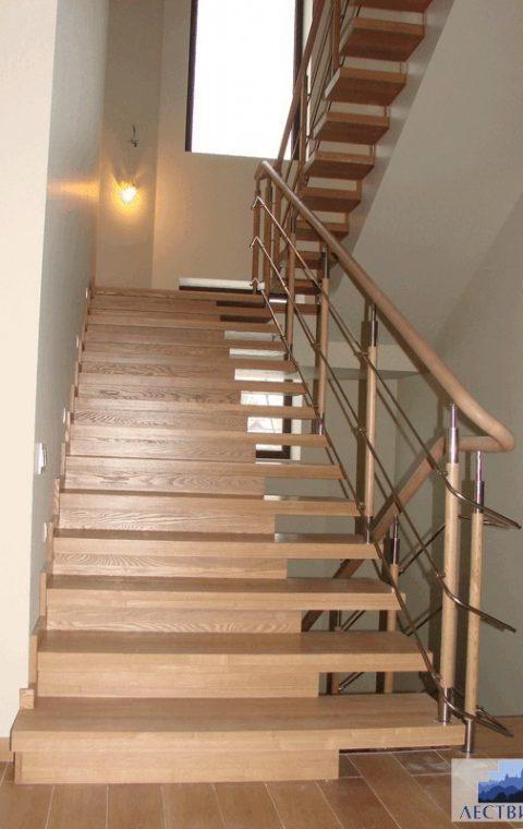 Лестница комбинированная k021