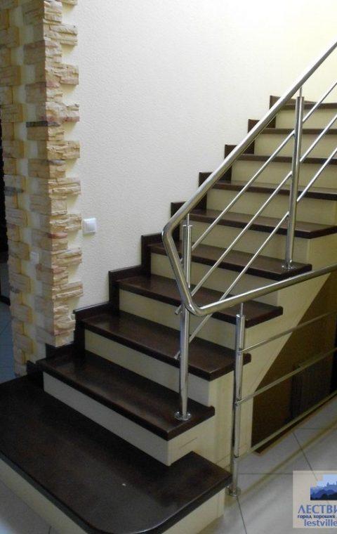 Лестница комбинированная k035