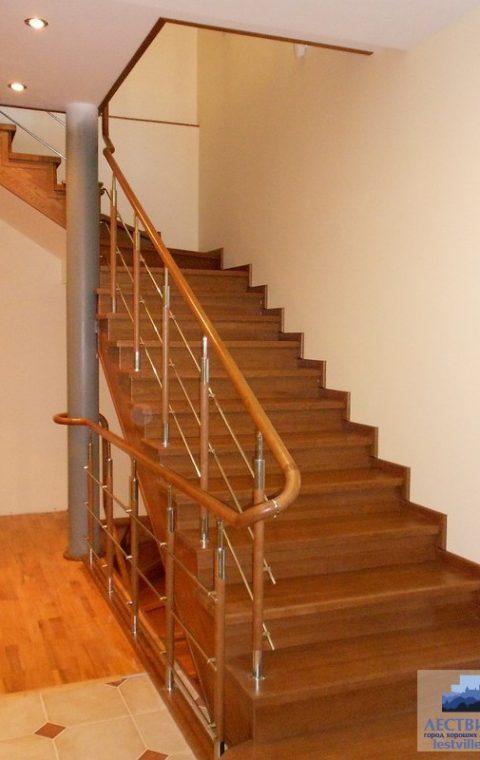 Лестница комбинированная k010