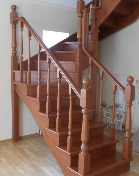 Лестница винтовая v009