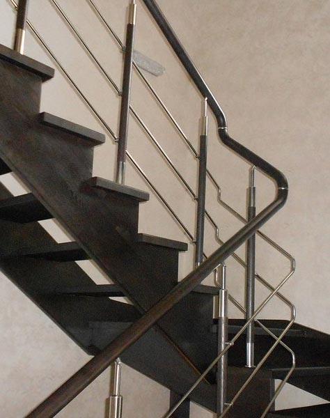 Лестница комбинированная k012