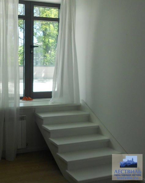 Лестница комбинированная k036