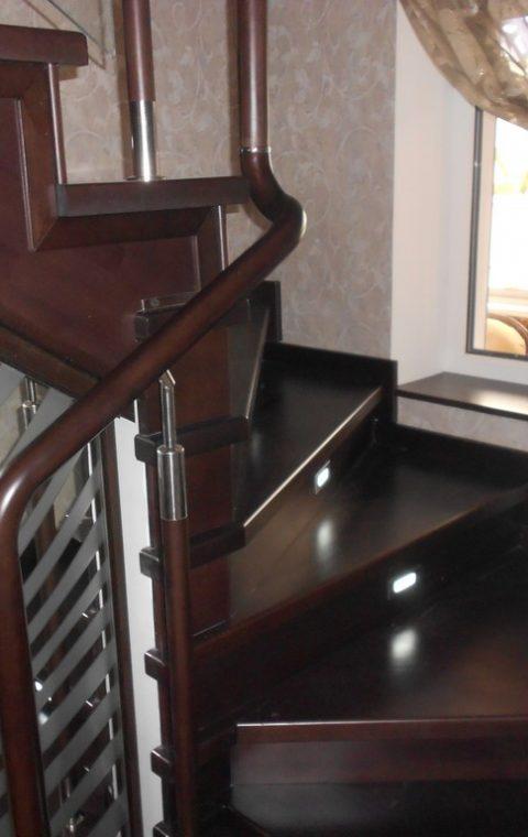 Лестница комбинированная k003