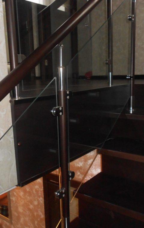 Лестница комбинированная k004