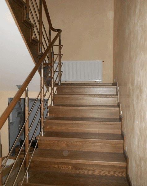 Лестница комбинированная k014