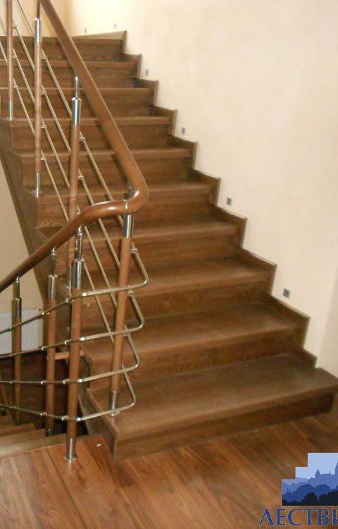 Лестница комбинированная k024