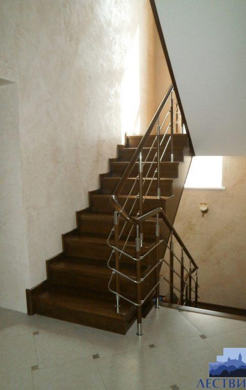 Лестница комбинированная k028
