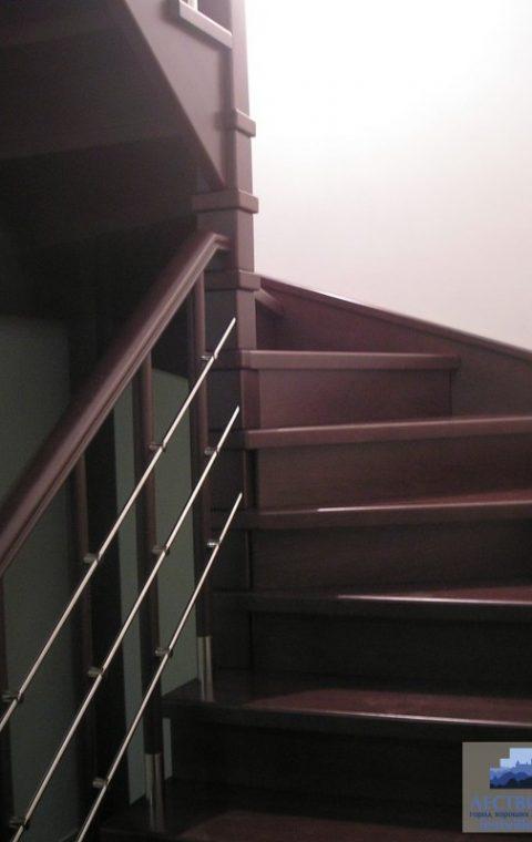 Лестница комбинированная k009