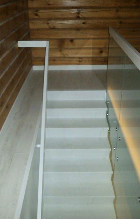 Лестница комбинированная k032
