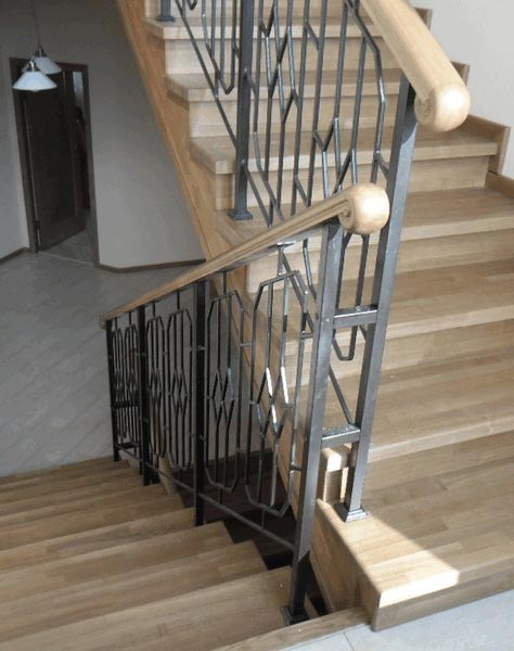Лестница комбинированная k016