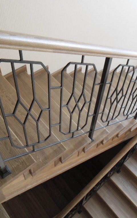 Лестница комбинированная k001