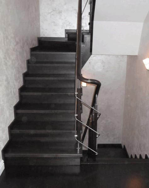Лестница комбинированная k017