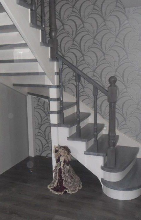Лестница на тетивах t015
