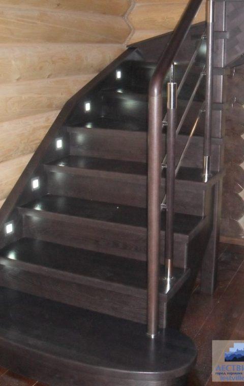 Лестница комбинированная k006