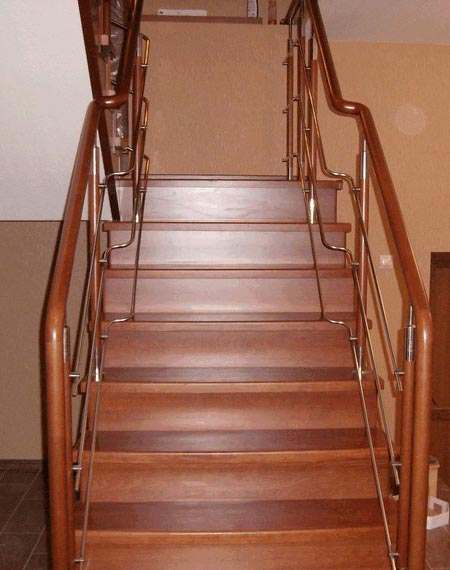 Лестница комбинированная k018