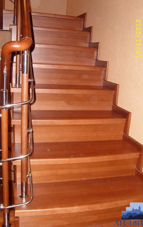Лестница комбинированная k023