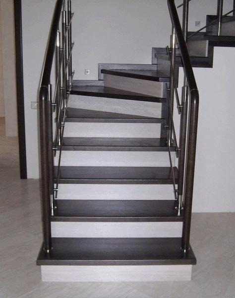Лестница комбинированная k020